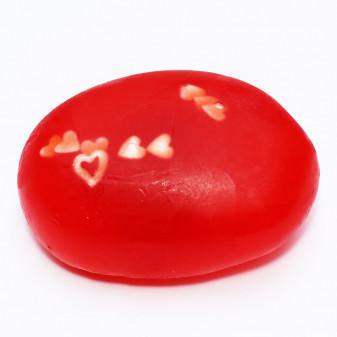 Galet de savon à la fraise de Plougastel 100gr