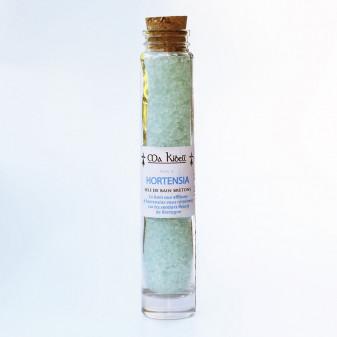 Sel de bain Hortensias