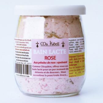 Bain lacté rose de bretagne