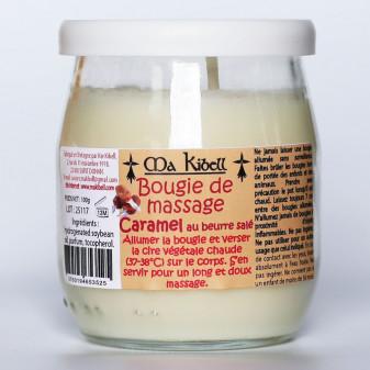 Bougie de massage au caramel au beurre salé
