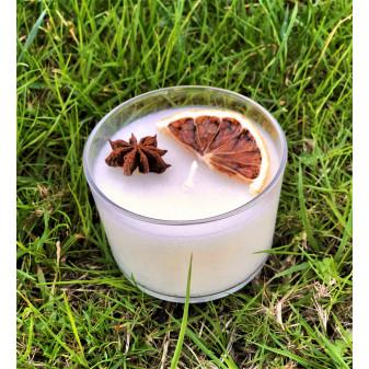 Bougie parfumée SENSUELLE 30g : Ylang-Ylang, Rose